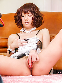 Yurika Miyachi - Raunchy beauty enjoys giving a blowie on a hard rod - Picture 11