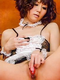 Yurika Miyachi - Raunchy beauty enjoys giving a blowie on a hard rod - Picture 8