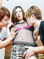 Yui Kasuga - Raunchy threesome scene involving milf beauty Yui Kasuga - Picture 2