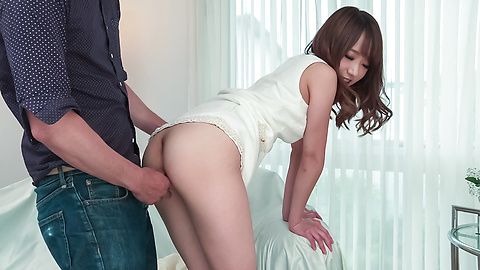 Nana Fujii - Nana Fujii bends ass for a full Asian creampie  - Picture 4
