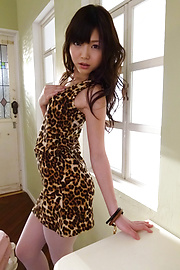 Megumi Shino - Megumi Shino is fucked through stockings - Picture 8