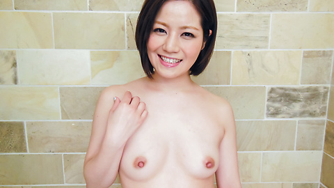 Minami Asano - Minami Asano plays with her pussy in the shower  - Picture 2
