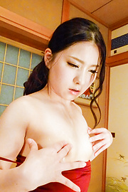 Yua Saiki - Japanese blowjob during gangbang with Yua Saiki  - Picture 2
