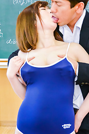 Kaho - Chubby Asian schoolgirl loves cock in her twat - Picture 3