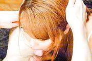 Chieri Matsunaga - Asian blow job in POV with sexyChieri Matsunaga - Picture 10