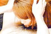 Chieri Matsunaga - Asian blow job in POV with sexyChieri Matsunaga - Picture 9