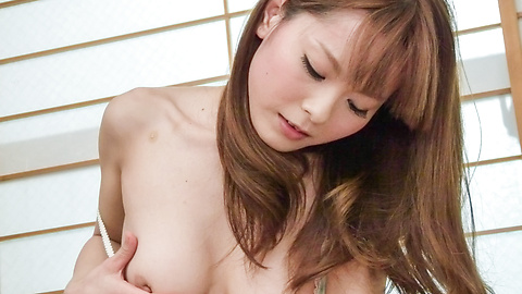 Anri Sonozaki - Anri Sonozaki amazes with full japanese blowjob - Picture 1