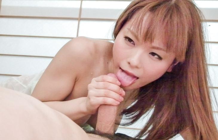 Anri Sonozaki strokes cock in superb POV session  asian girls nude, japanese nude