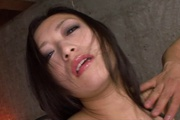 Dildo fondled naughty babe with big tits and hairy snatch Photo 6