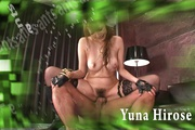Busty Yuna Hirose In Stockings Fucked By Two Guys Photo 1