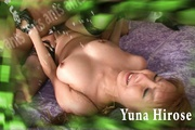 Busty Yuna Hirose In Stockings Fucked By Two Guys Photo 2