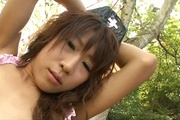 Asuka Ishihara has japan outdoor sex with two guys Photo 11