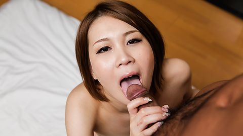 Mao Mizusawa - Top Japanese blowjob with insolent Mao Mizusawa - Picture 7