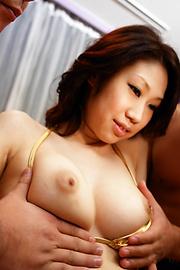 Fuuka Takanashi - ร่างกายที่สมบูรณ์แบบของฟูกะ ทาคานาชิ จะใช้โดยผู้ชายสามคน -  2 รูปภาพ