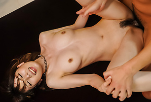 Asian milf goes extreme with a tasty dick