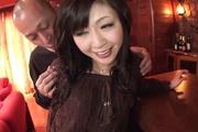 Hot Asian gangbang sex for naked Serika Kawamoto Photo 3