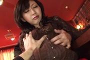 Hot Asian gangbang sex for naked Serika Kawamoto Photo 5