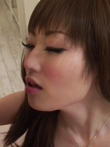 Mizuki - Mizuki tries two males during rough trio porn  - Screenshot 4