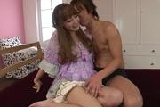 Amazing Japanese group sex withRin Momoka Photo 4
