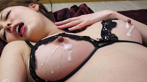 Akari Asagiri - Double Penetration For Akari Asagiri's Holes - Picture 6