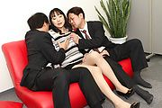 MILF Miho Wakabayashi Creampied By Two Guys Photo 4