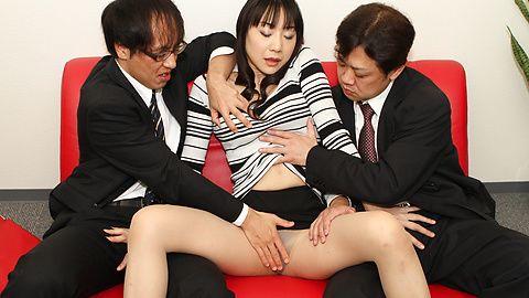 Miho Wakabayashi - 美穗若林史江舔钻井工具 - 图片 5