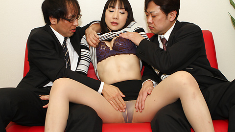 Miho Wakabayashi - 美穗若林史江舔钻井工具 - 图片 6