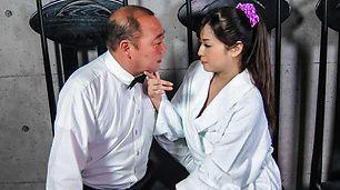 Ibu rumah tangga telanjang, blow job Asia yang luar biasa di cam
