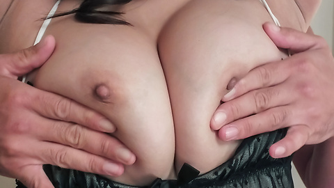 Hinata Komine - Big tits milf enjoying naughty anal masturbation  - Picture 2