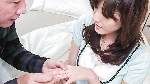 飯岡かなこ - 頬を赤らめバキュームフェラ 飯岡かなこ - Picture 5