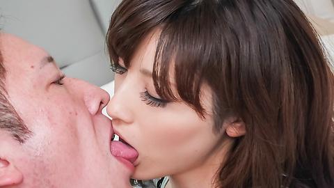 飯岡かなこ - 頬を赤らめバキュームフェラ 飯岡かなこ - Picture 6
