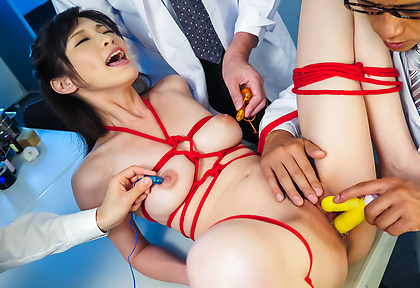 Asian milf gets fucked in bondage adventure