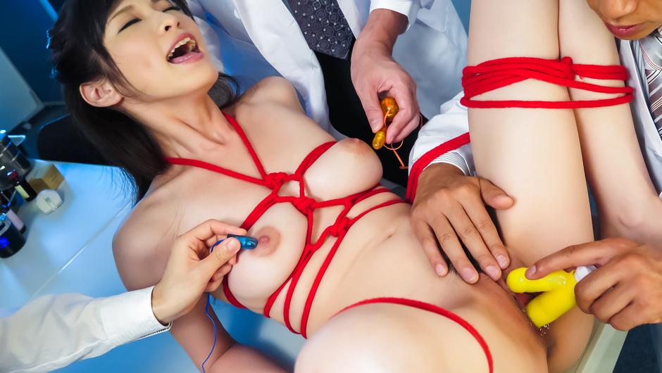 Asian milf gets fucked in bondage adventure