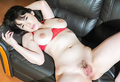 Asian big tits babe, Koyomi Yukihira, fucking in threesome