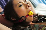 Perfect Japanese toy play with big titsReon Otowa Photo 4