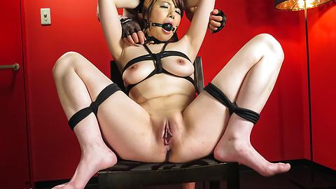 Reika Ichinose - 桥本丽香一之濑粗糙日本奴役显示 - 图片 7