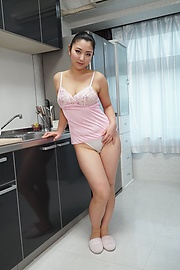 Yuri Honma - Yuri Honma plays with cock in smooth manners  - Picture 2