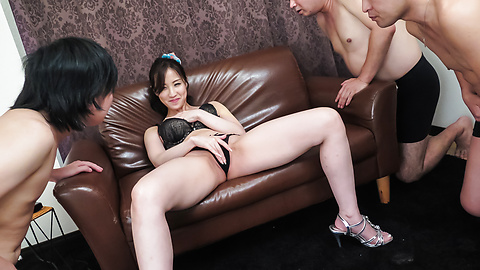 Runa Momose - Runa Momose naughty scenes of Japan cum swallowing  - Picture 3