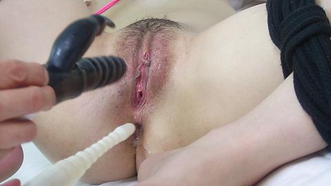 Yuu Mahiru - Bondage and a messy DP for Japanese Yuu Mahiru - Picture 3