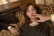 Hot and slim Mei Haruka double oral and MMF Photo 9