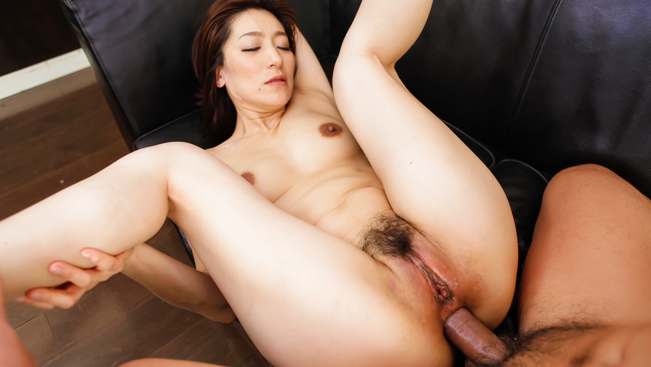 mature asian anal threesome - Asian blow job with Marina Matsumoto in threesome - Japanese Porn @  JAVHD.COM