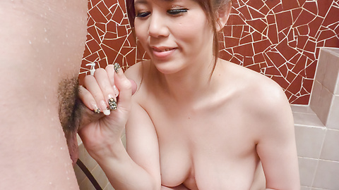 Maki Koizumi - Maki Koizumi enjoys full Asian blow job adventure - Picture 4