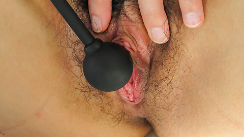 Konoha - Hairy babe  Konoha enjoying japanese dildo  - Picture 7
