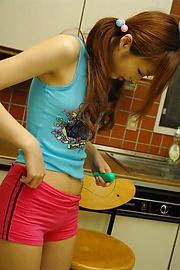 Kotone Aisaki - ไอซากิ kotone จะสำหรับบันทึกเวลาในการดูดไก่ -  5 รูปภาพ