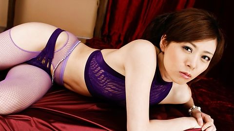 Keito Miyazawa - Keito Miyazawa mesum twat dengan vibrator - gambar 2
