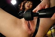 Megumi Shino's Pussy And Ass Fucked With A Vibrator Photo 5