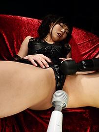 Megumi Shino - Horny Megumi Shino's Teen Holes Fucked With Sex Toys - Picture 4