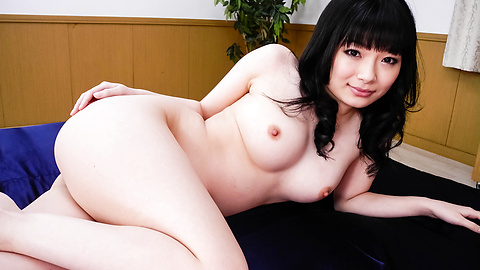 Hina Maeda - Two Older Guys Pound Hina Maeda's Shaved Pussy - Picture 1