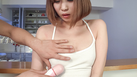 Mei Mizuhara - Asian dildos to crack Mei Mizuhara's puffy pussy  - Picture 4
