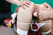 Schoolgirl Threesome With Kotomi Asakura Ends In Cream Photo 11